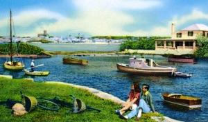 SaltKettleBermudaoldpostcard